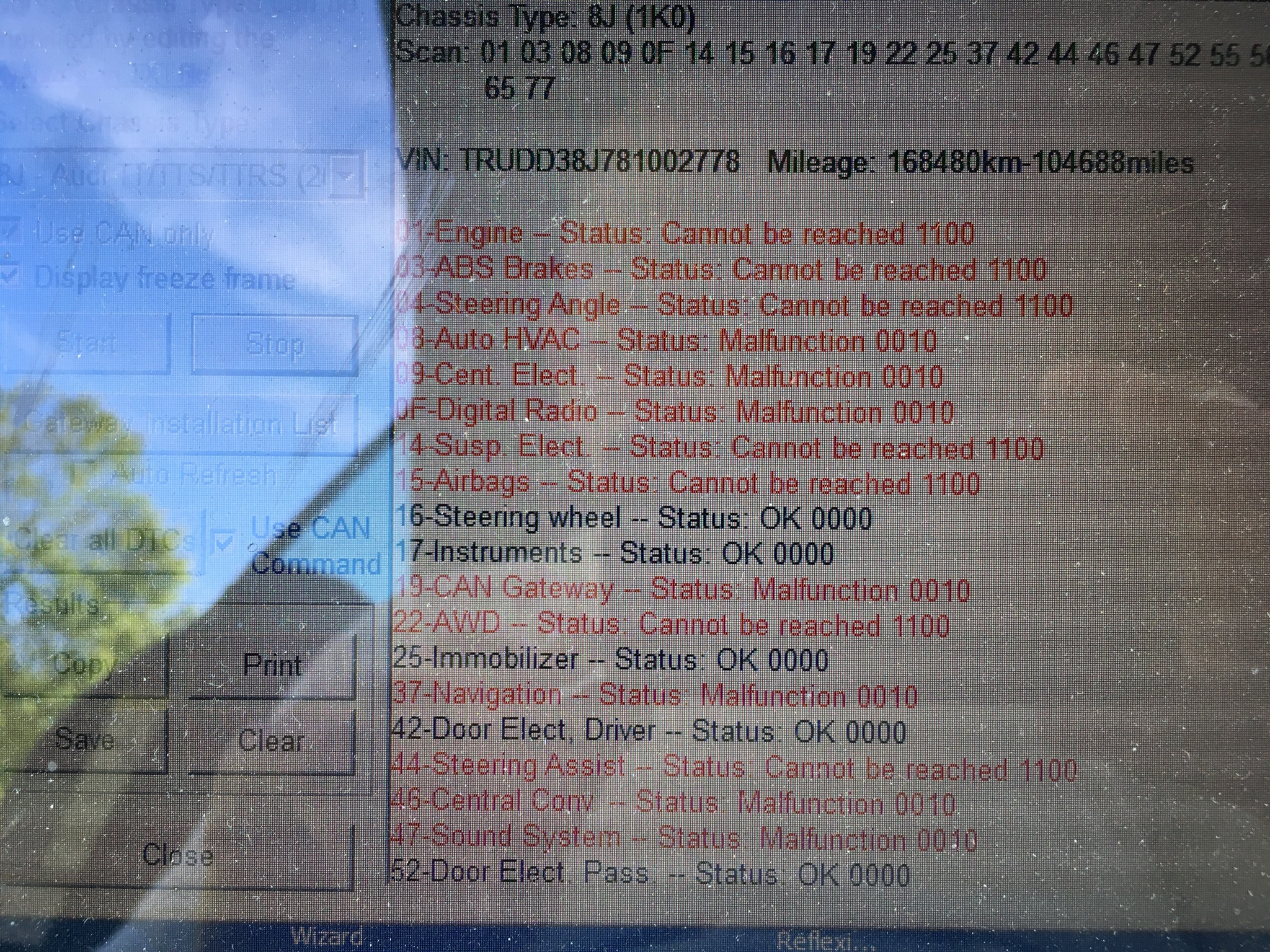 p0513 code reset