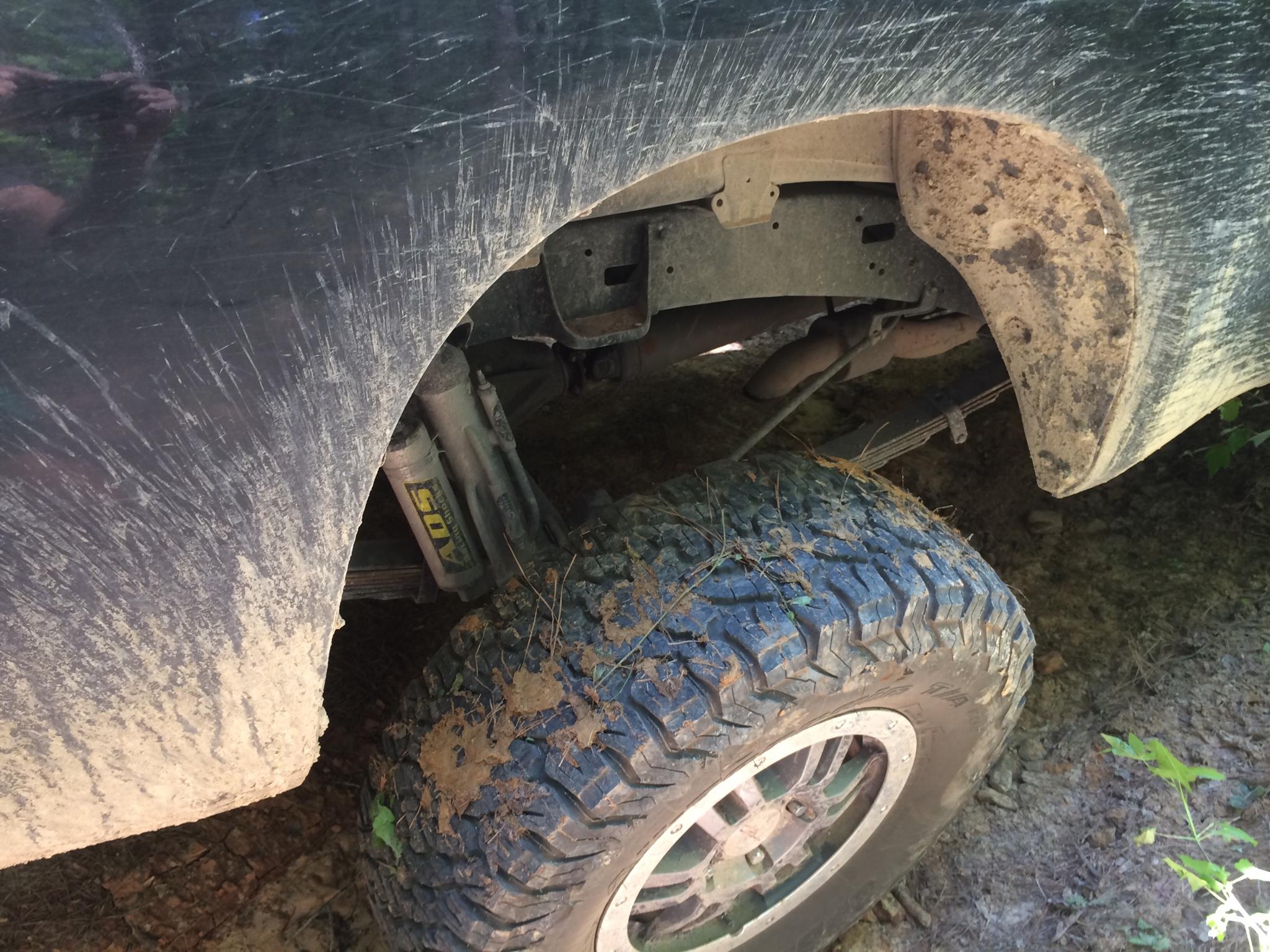 Rear shock relocation - TundraTalk net - Toyota Tundra