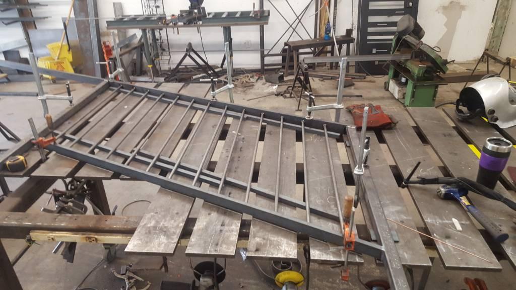 Ideas For Adjuable Welding Table
