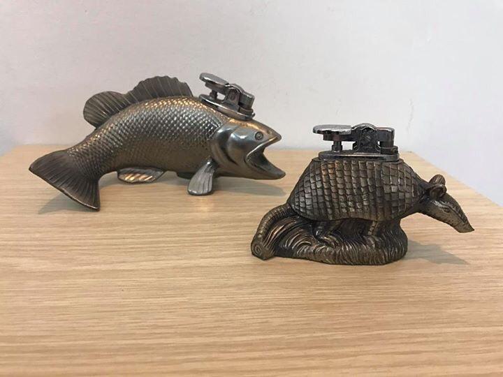 Bật lửa con cá và con tatu của Nhật