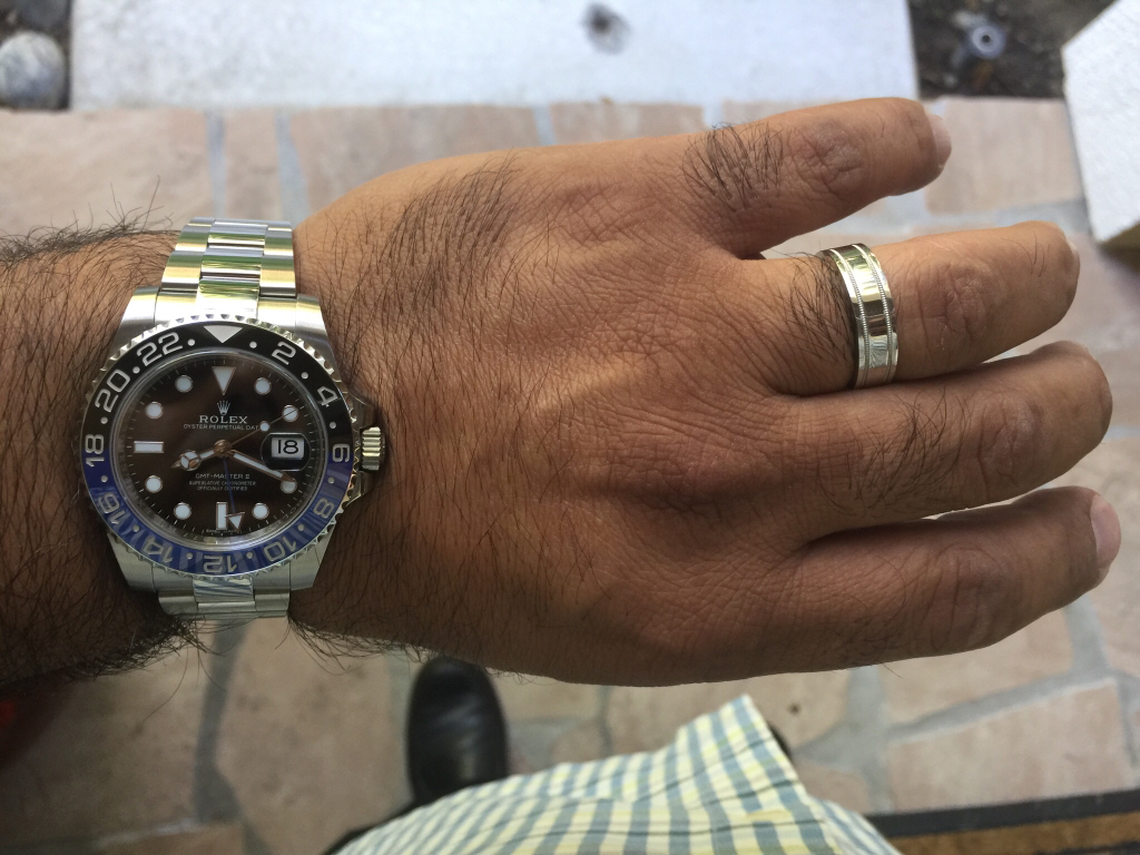 Your Rolex and your wedding ring Rolex Forums Rolex Watch Forum