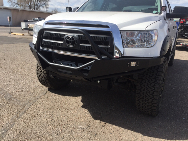 Addicted froad s new Tundra Sequoia winch bumper
