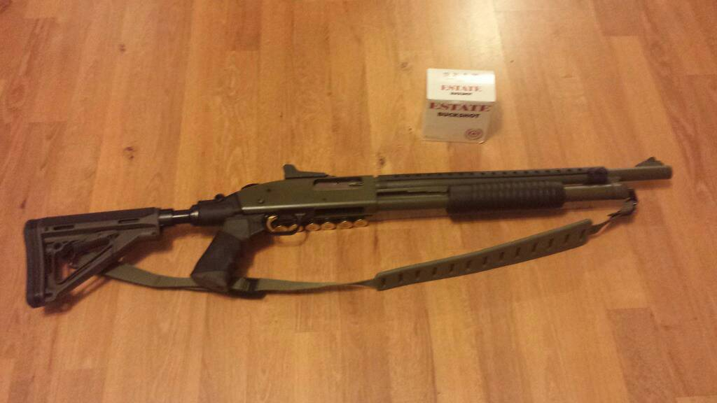 Mossberg 500 with some mods  - Survivalist Forum