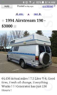 Found on Craigslist! Common scams and common sense! - B190 Enthusiasts