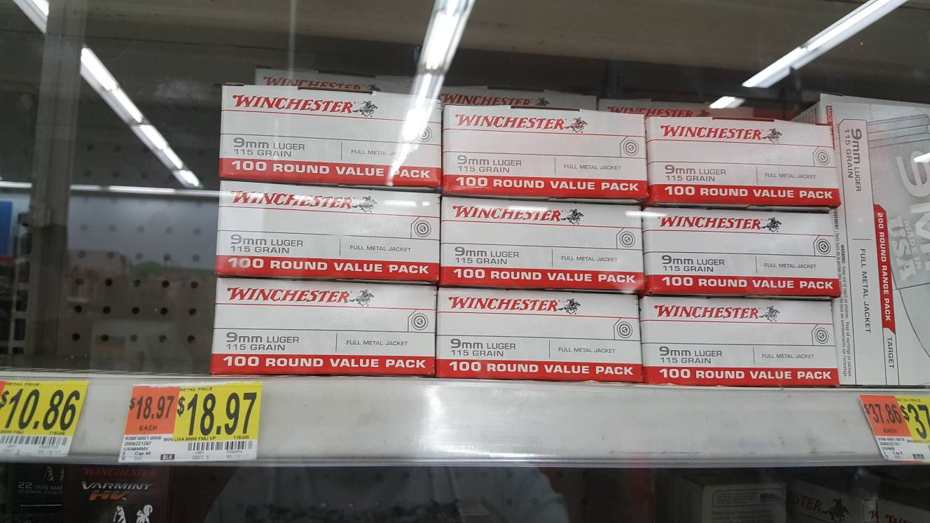 Wal-Mart Milpitas ammo instock! [Archive] - Page 21