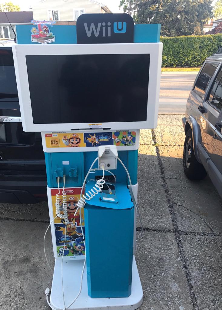 Wii U Arcade Machine : New free wii u kiosks page klov vaps coin op