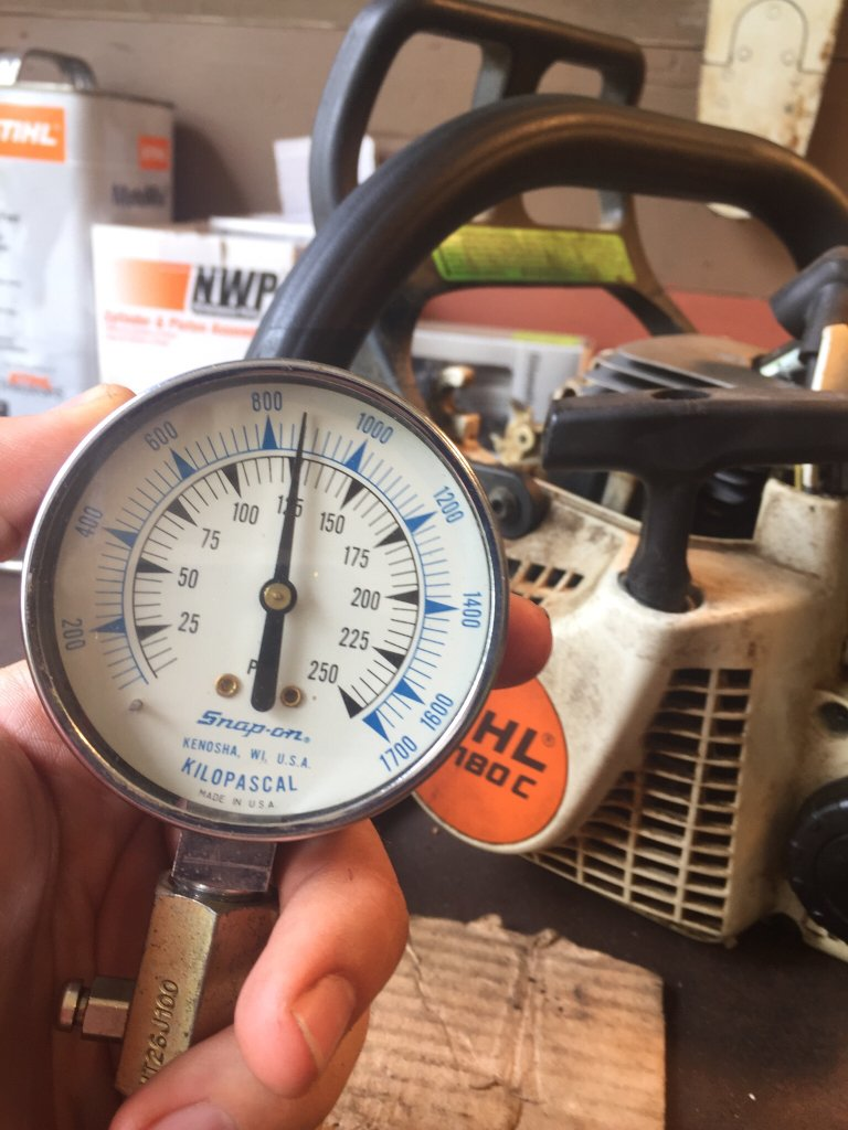 Compression tester issues? | Arboristsite com