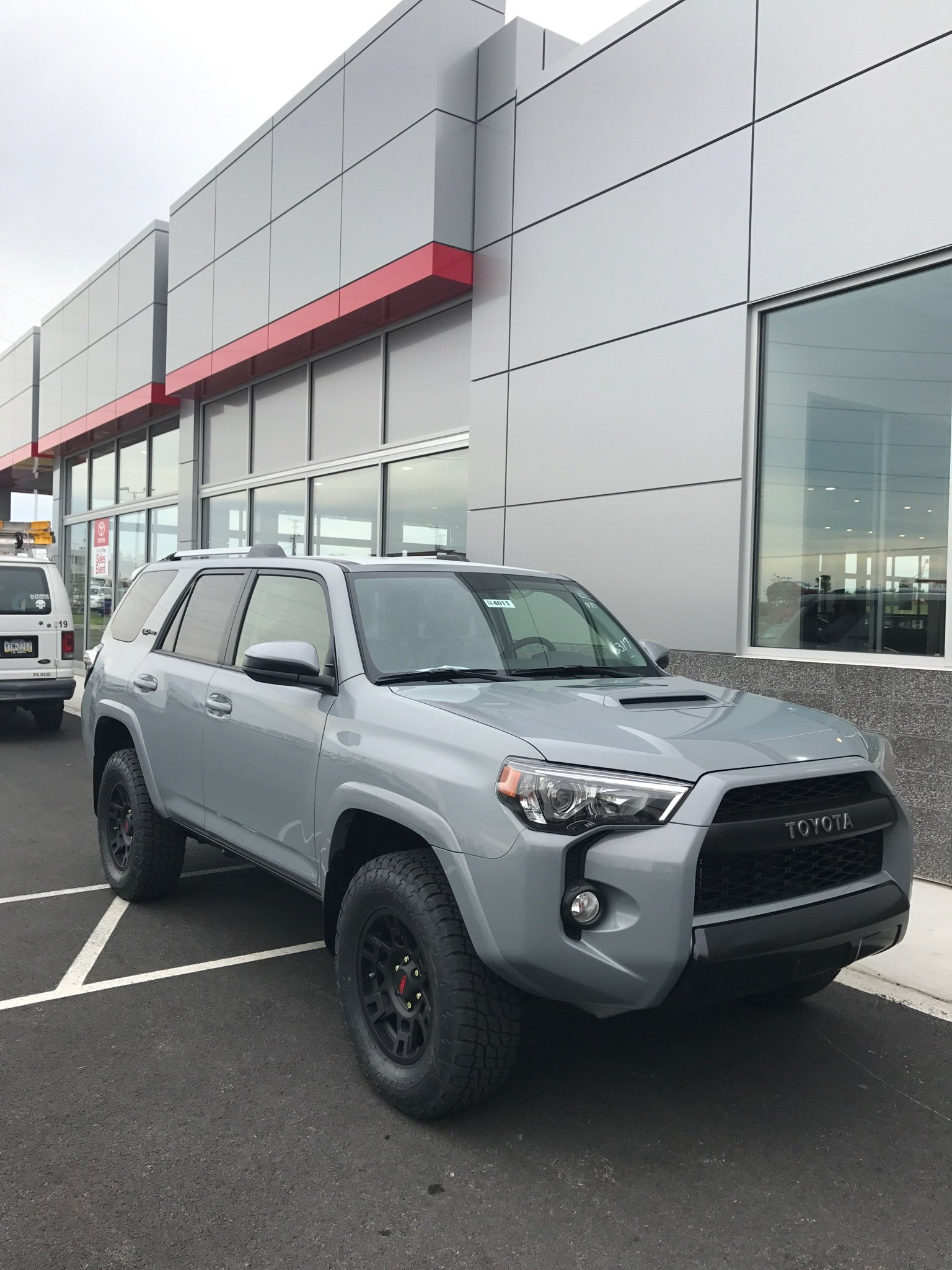 2017 Toyota Tacoma Trd Pro >> 2018 TRD Pro Colors...Cement? - Page 3 - Toyota 4Runner ...
