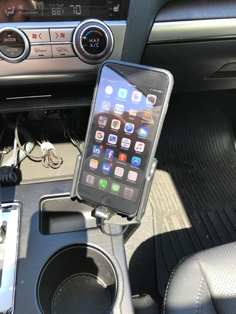Cell Phone Mounting Proclip Subaru Outback Subaru