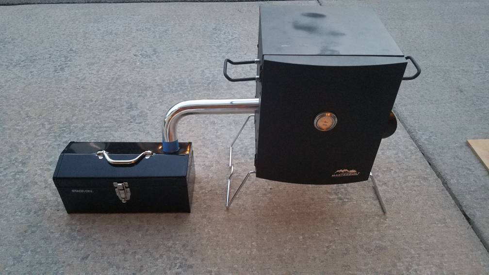 Masterbuilt Portable Electric Smoker Toolbox Mod Smoking