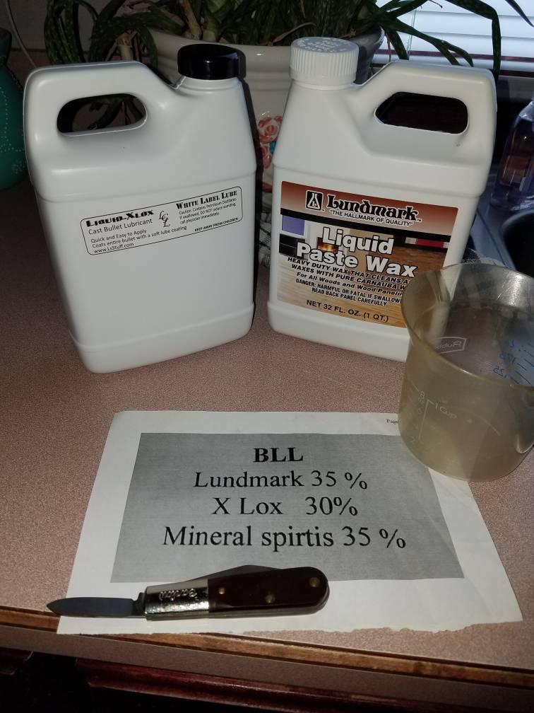 Liquid X-lox Cast Bullet Tumble Lube 32 Oz Molds Reloading Equipment