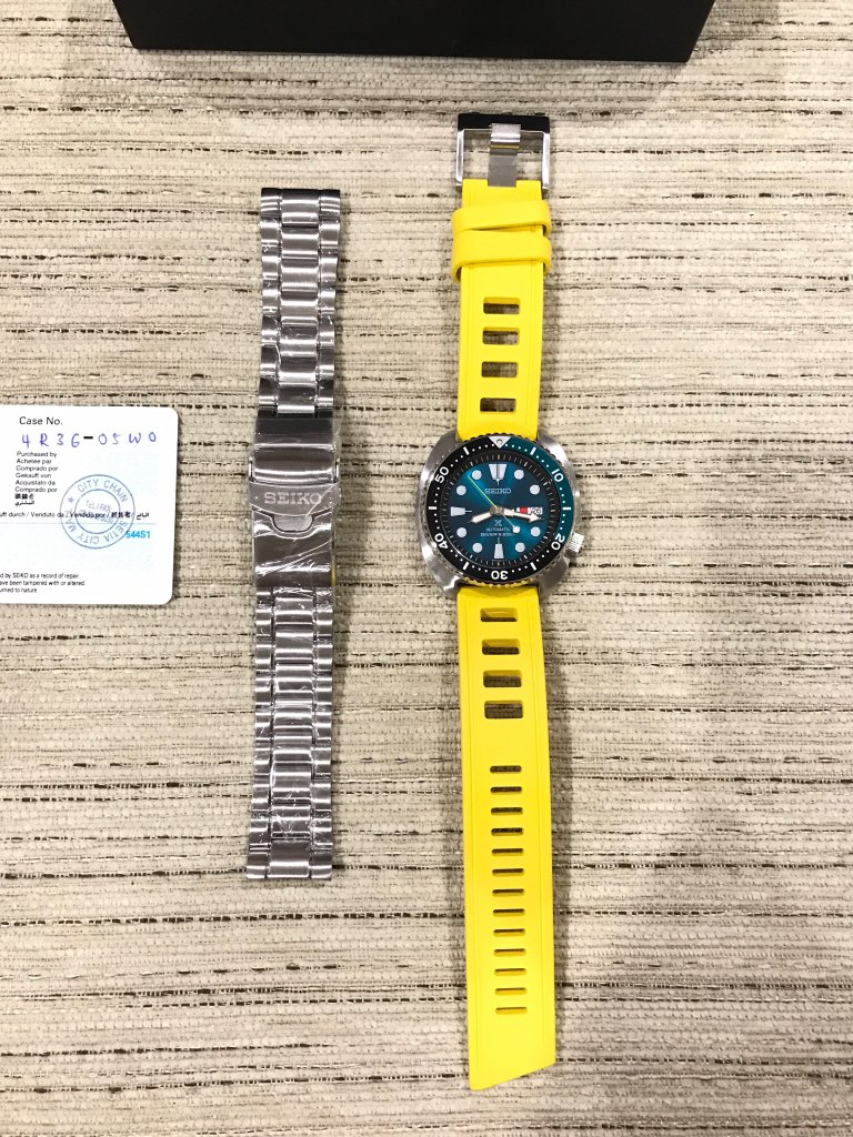 Seiko Emerald Green Turtle Srpb01 Here Are The Photos