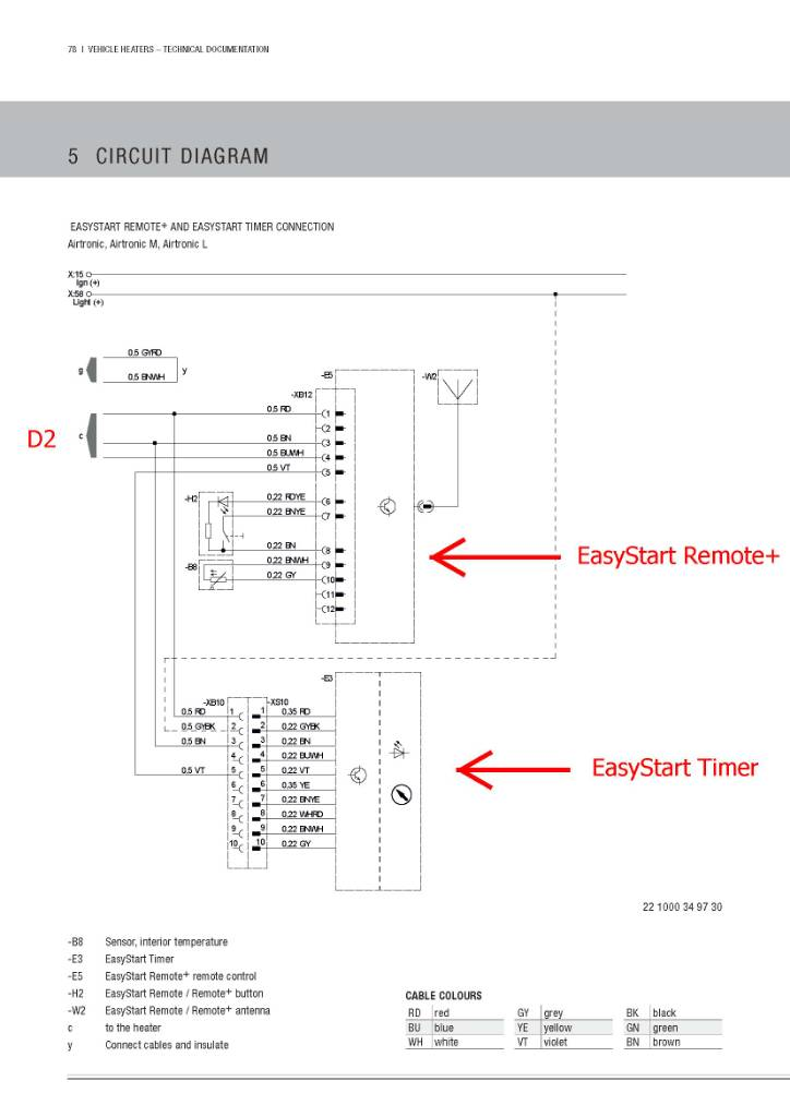 Eberspacher Wiring Diagram D1l on timer schematic diagram