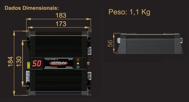 FS: Soundigital GaN 300 2d amplifier - Car Audio