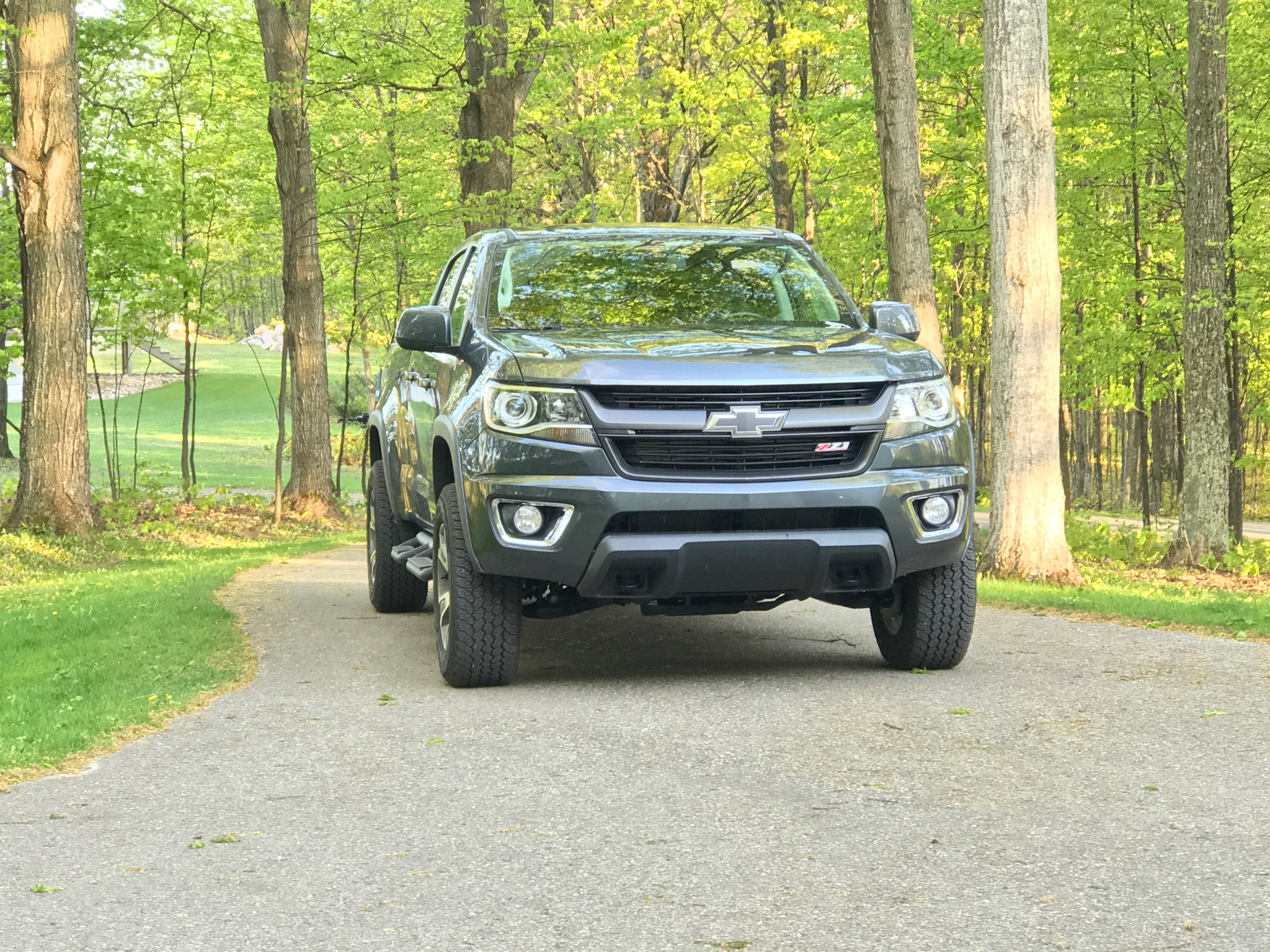1 25 Spacers Work With Z71 Wheels And No Lift Chevy Colorado Gmc Canyon