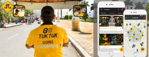 Go Tuk Tuk (Uber-like Taxi App For Phnom Penh and Siem Reap