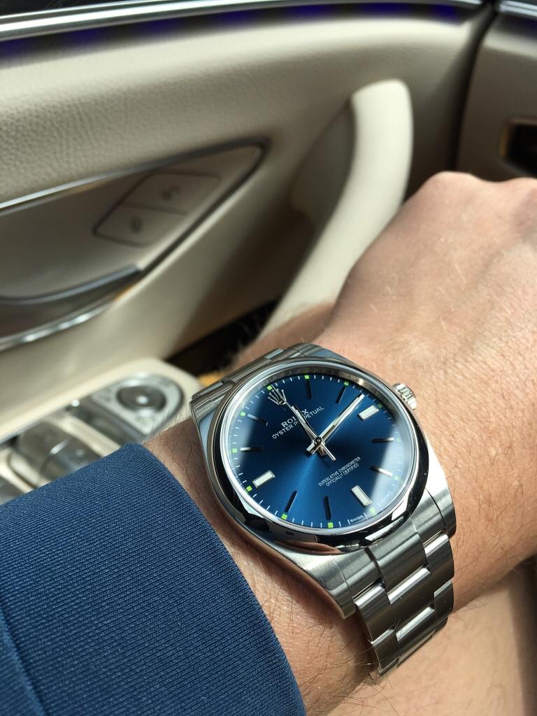 Oyster Perpetual 39 , Blue or Rhodium , Rolex Forums , Rolex