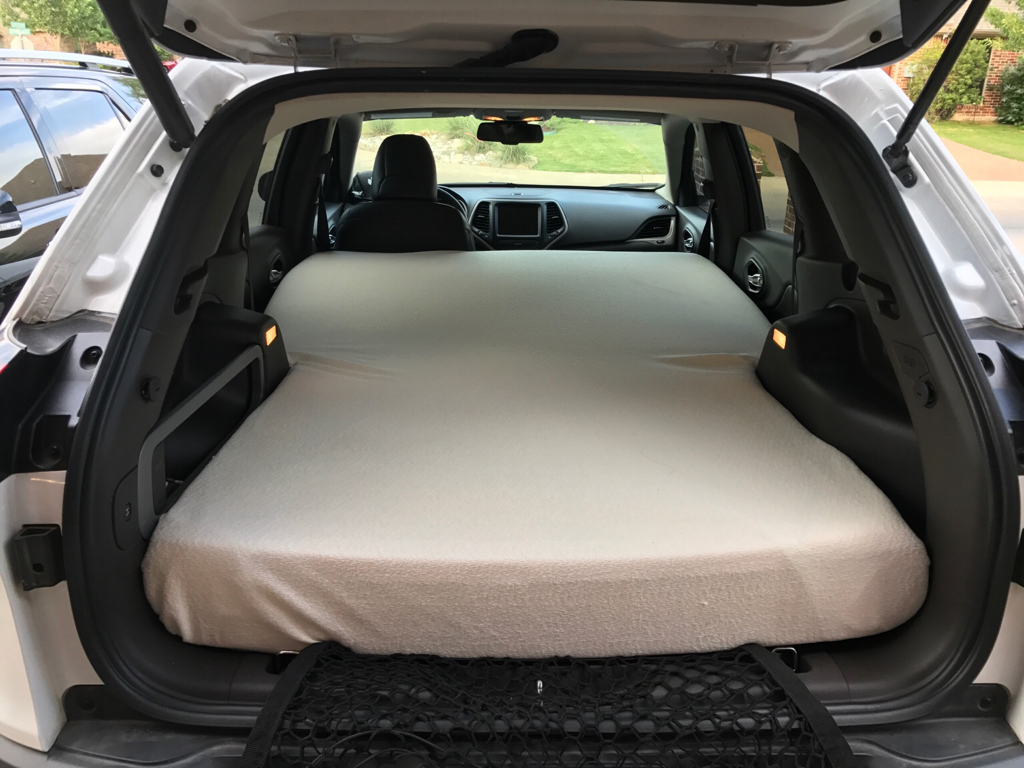 Jeep Xj Ideas >> Jeep Cherokee KL full size mattress for sleeping - 2014+ Jeep Cherokee Forums