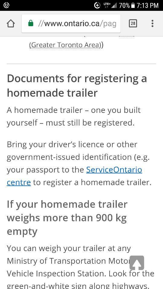 Home Made Trailer Registration Gtamotorcycle Com