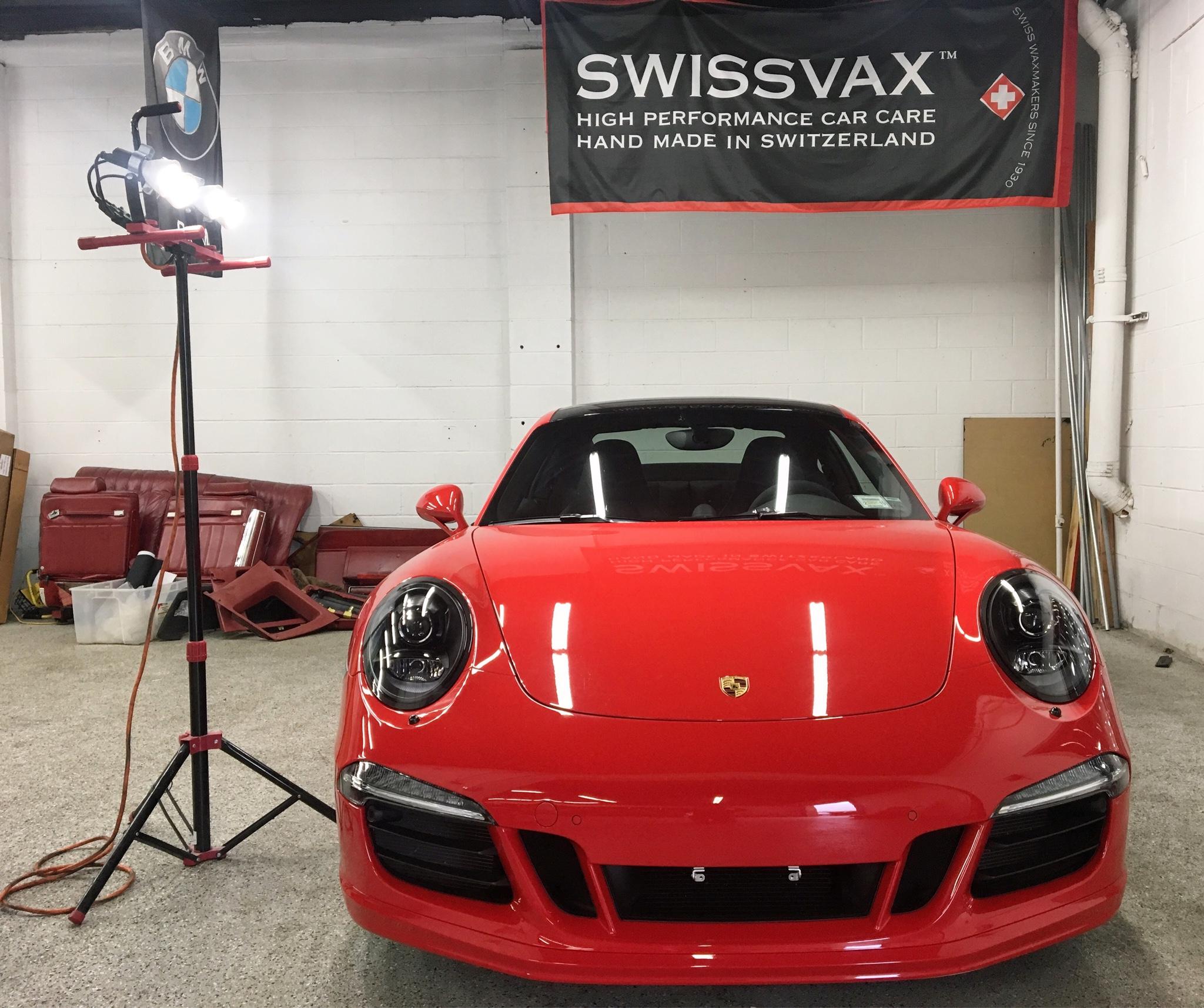 Porsche 911 Engine Test Stand: Porsche 911 Receives The CQuartz Professional Treatment