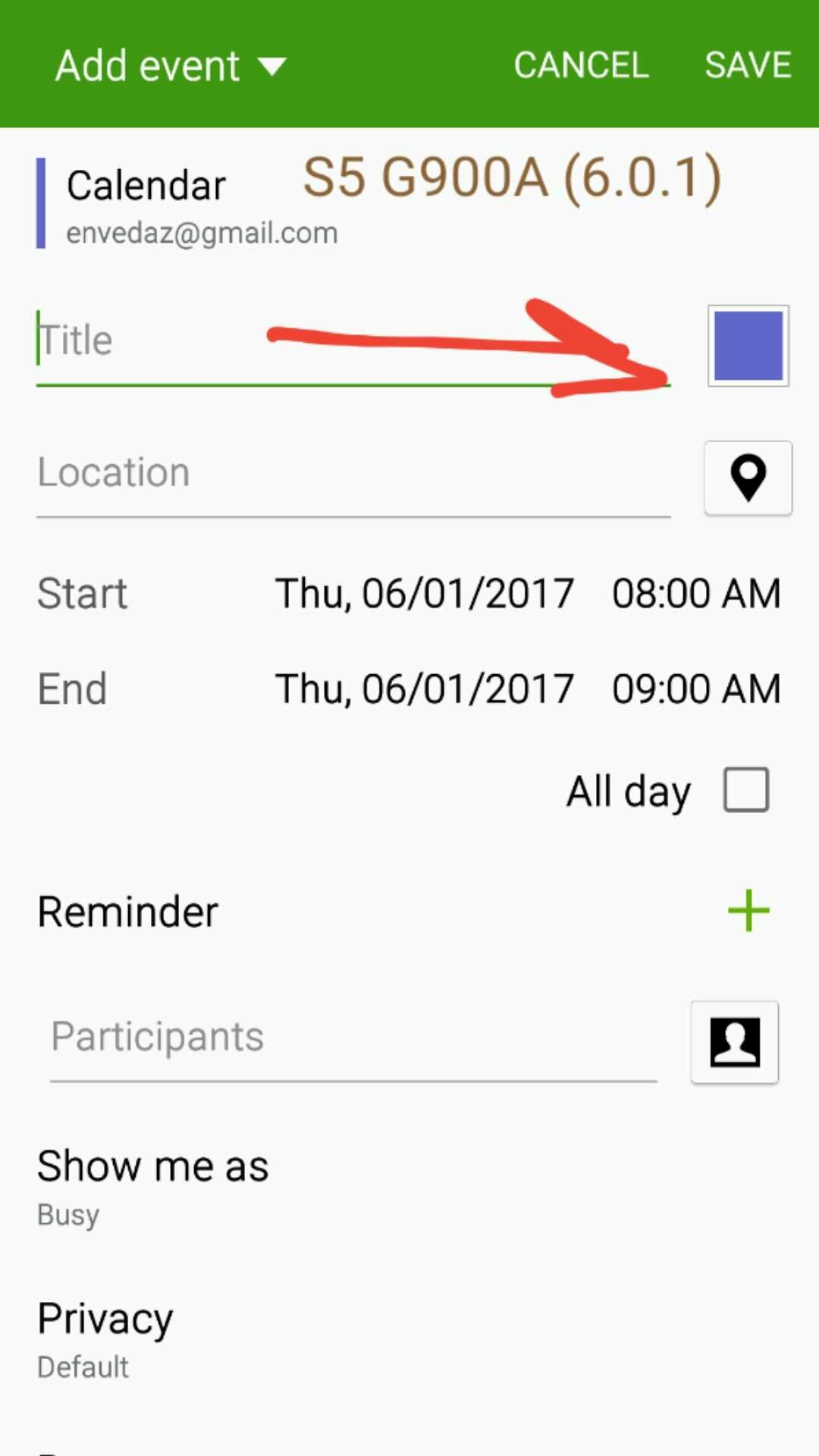 Event Calendar Js : Cant we change the color of calendar entries any more? android