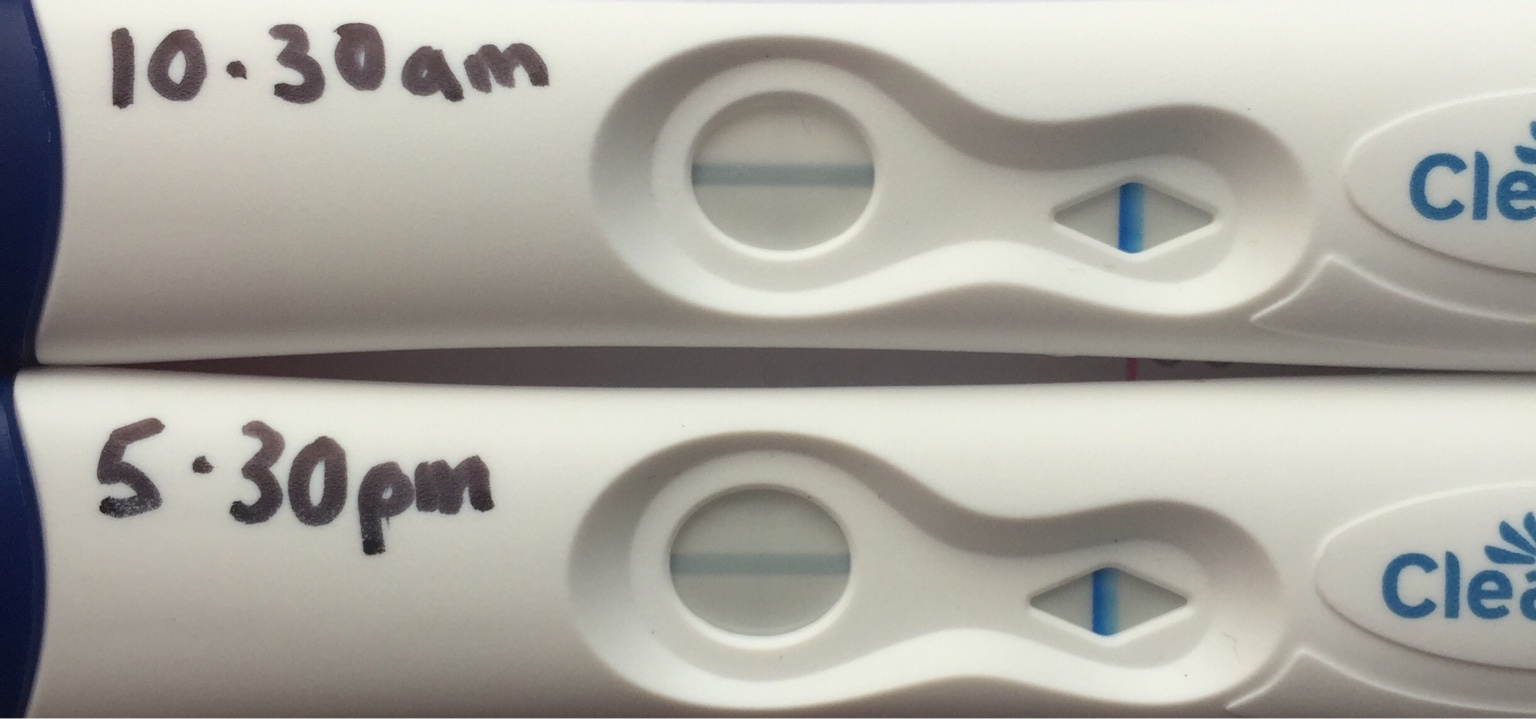 clear blue fertility test instructions