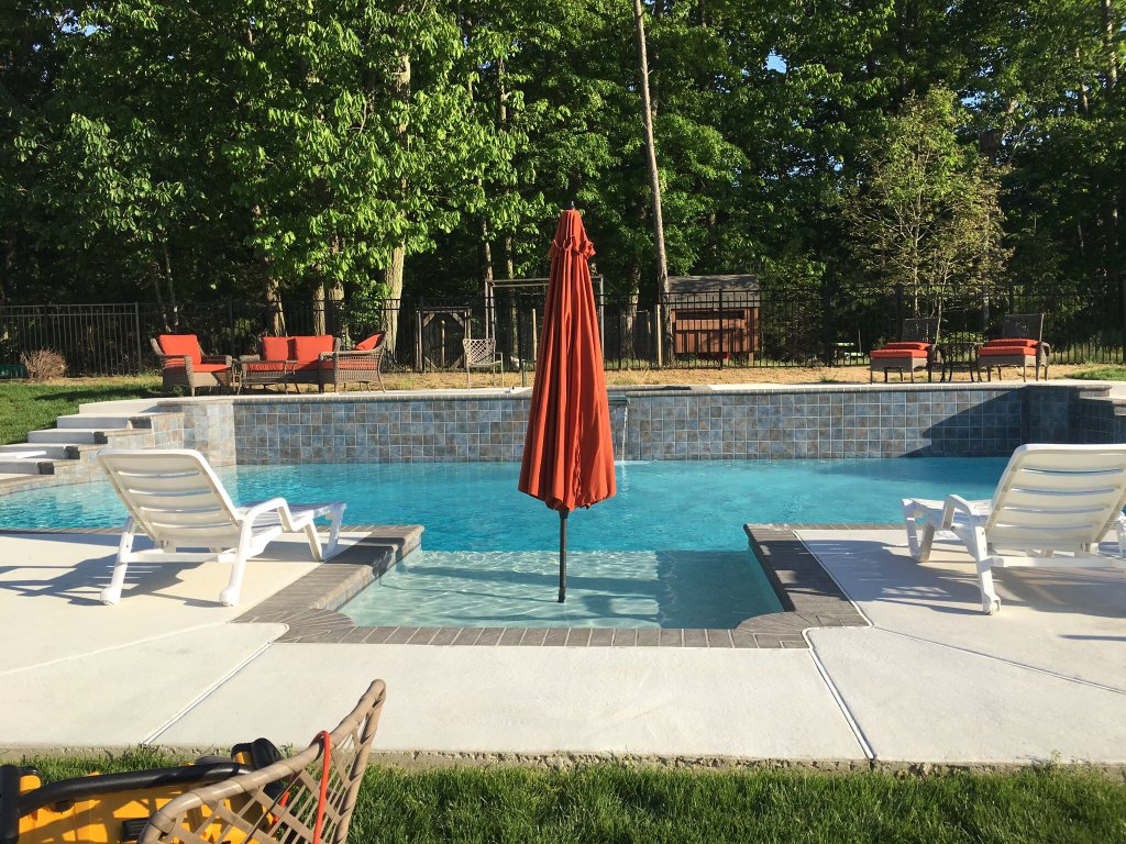In Pool Umbrella Recommendations Trouble Free Pool