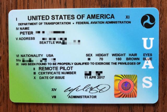 temporary 107 certificate? | dji mavic drone forum