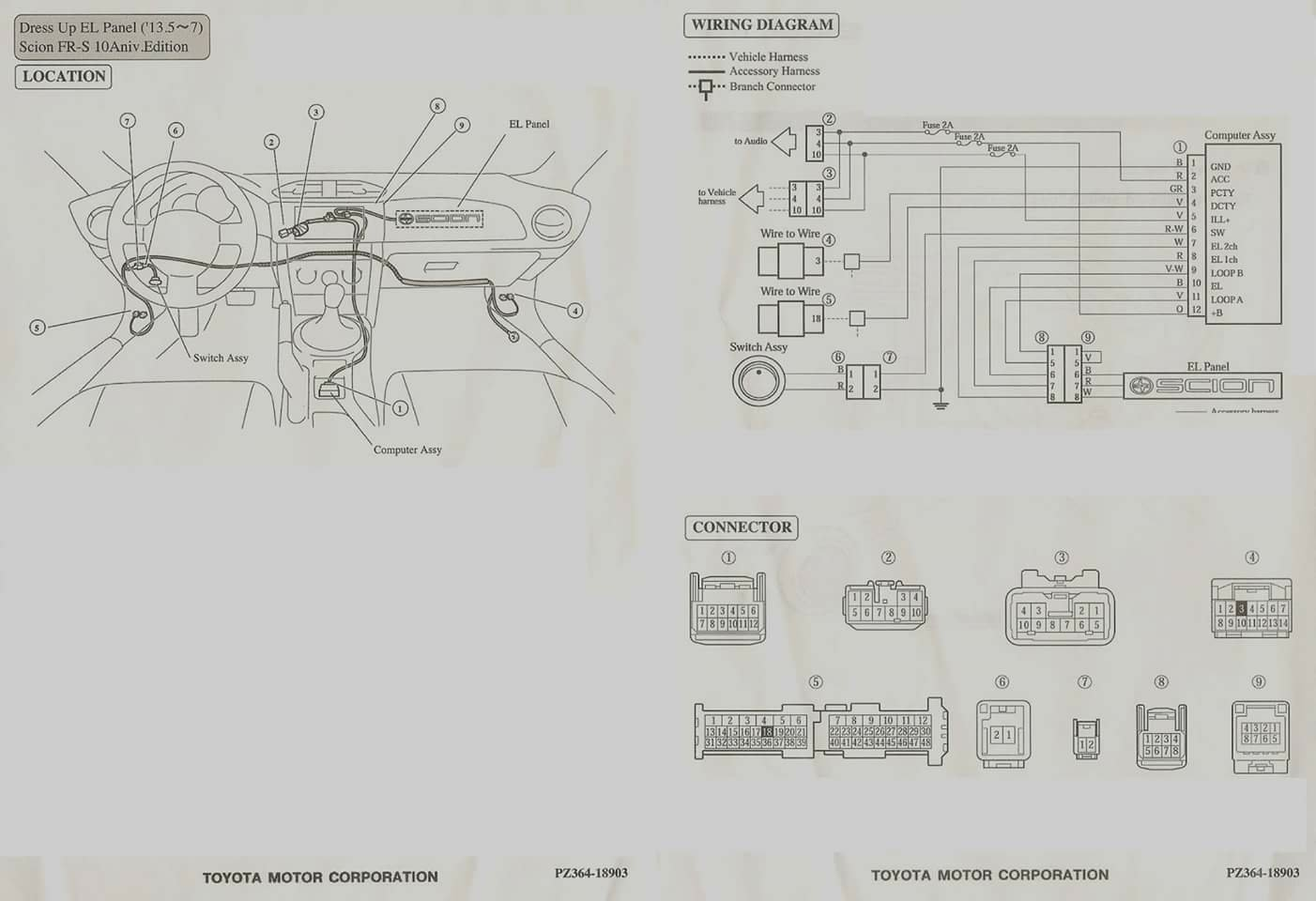scion frs stereo wiring diagram  scion  auto wiring diagram