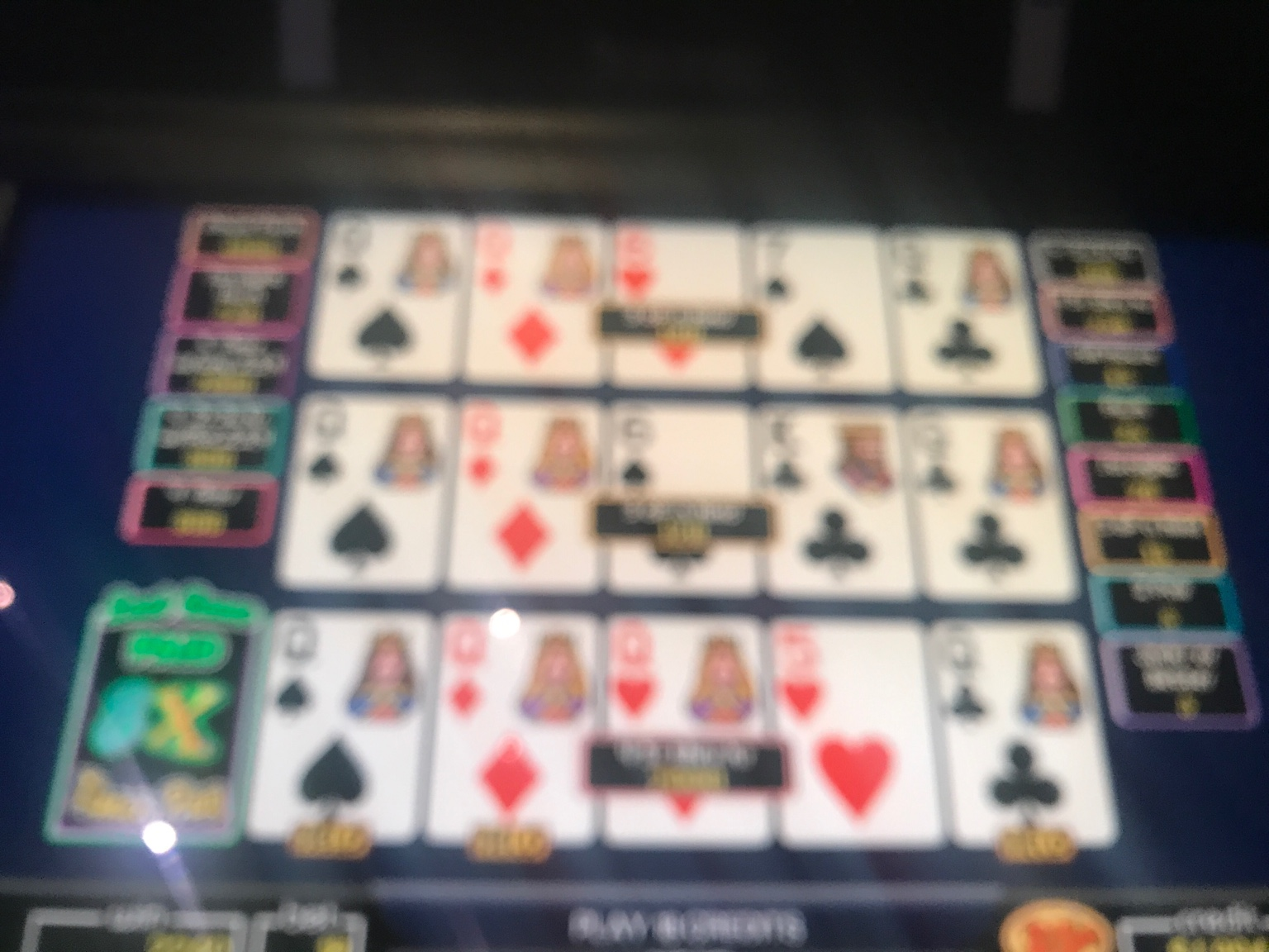 Video Poker WSOP And Great Food 6 9 15