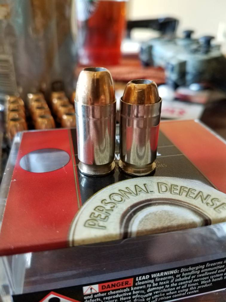 Problem with Federal 165gr low recoil hydra-shok  45ACP