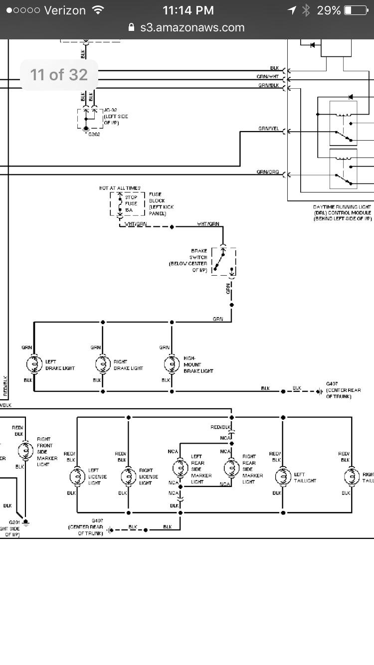 Horn Wiring Diagram 94 Miata Portal 1993 Mazda Radio Stop Fuse Blowing Mx 5 Forum Rh Net 1990 93