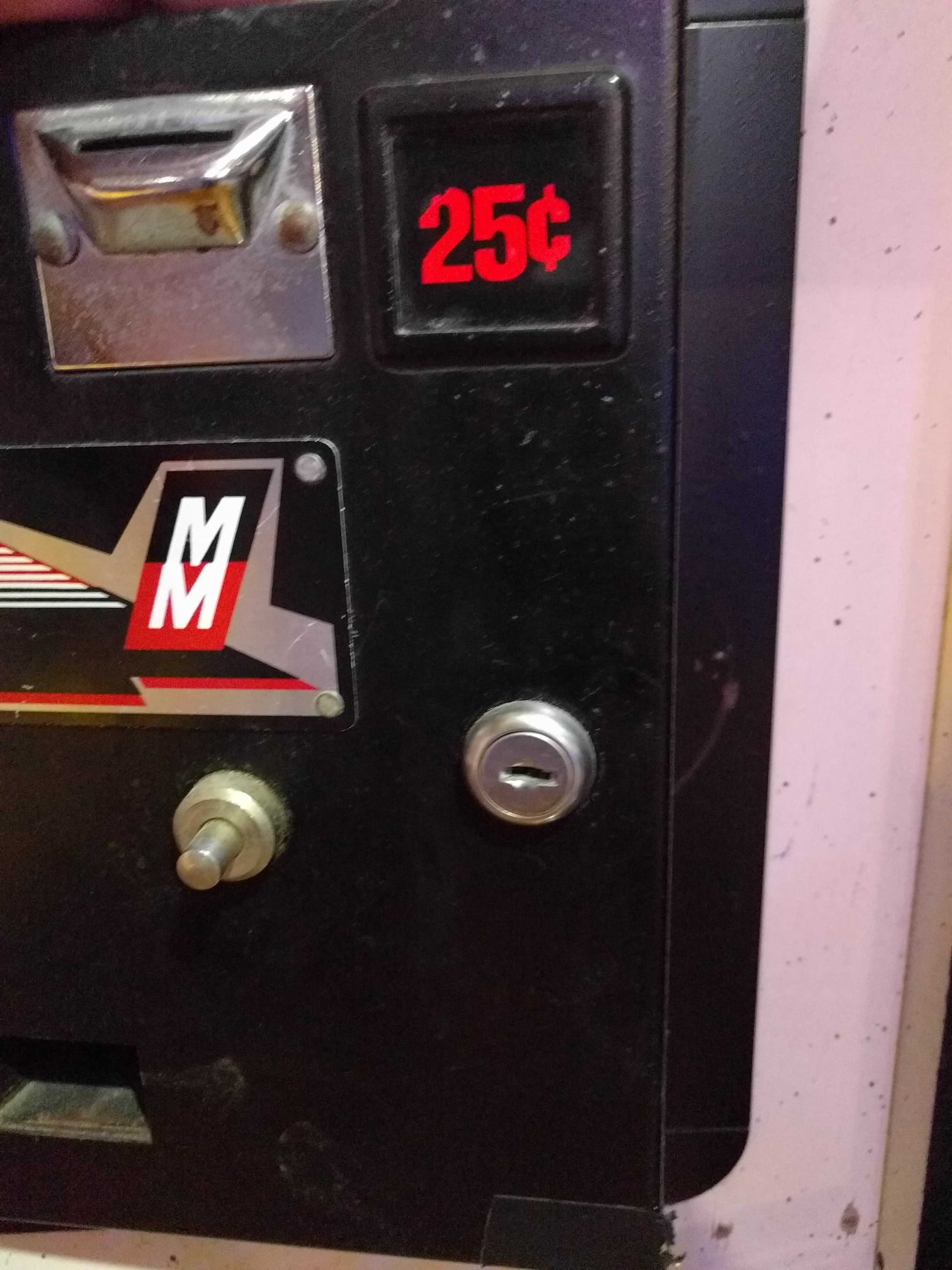 Midway Coin Door Plate Video Is Our Game Cheap Sales Replacement Parts
