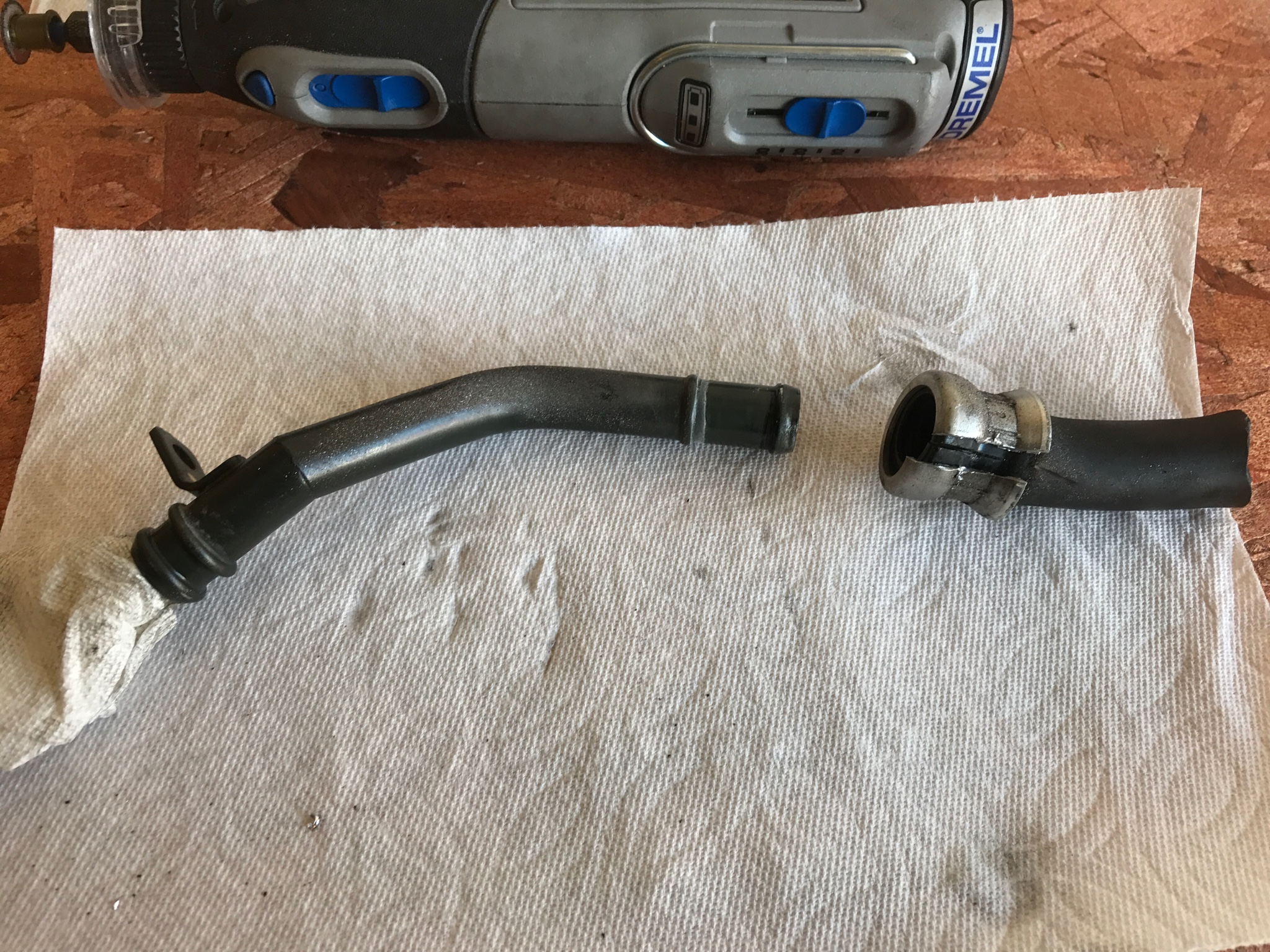 Not Your Average Pcv Reroute Write Up Chevy And Gmc Duramax For An 05 Lly Fuel Line Filter I Found That It Is Much Easier To Install The Heater Hose Driver Side Ventilation Pipe Before Installing Back Into Engine