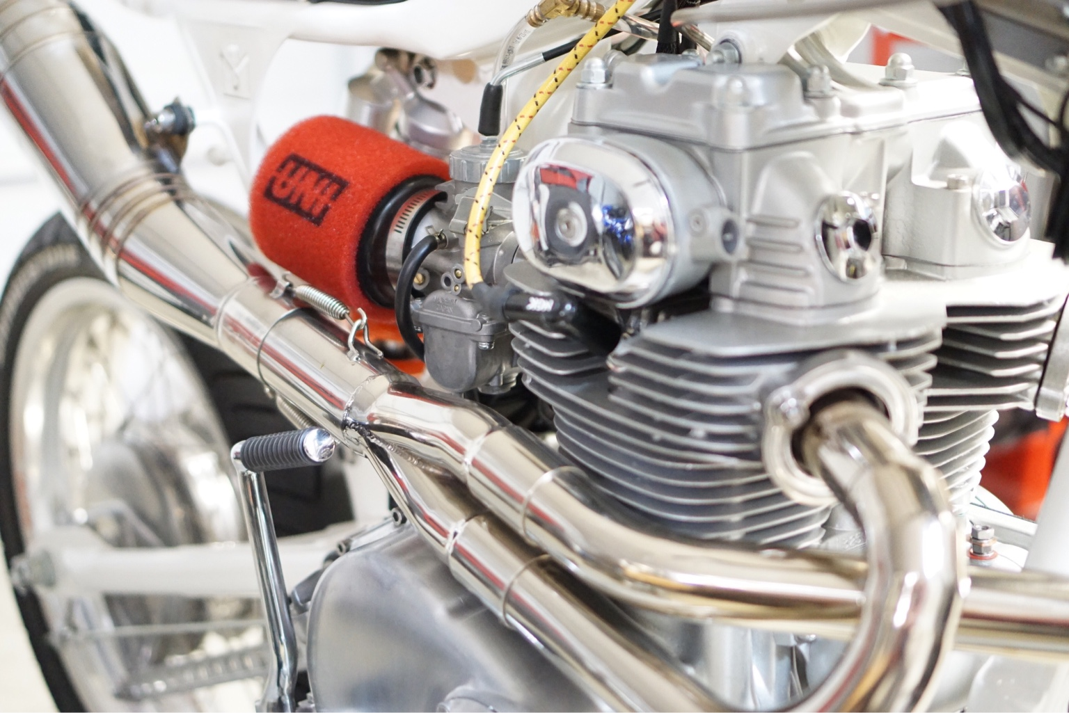 CB350 Popping on deacceleration