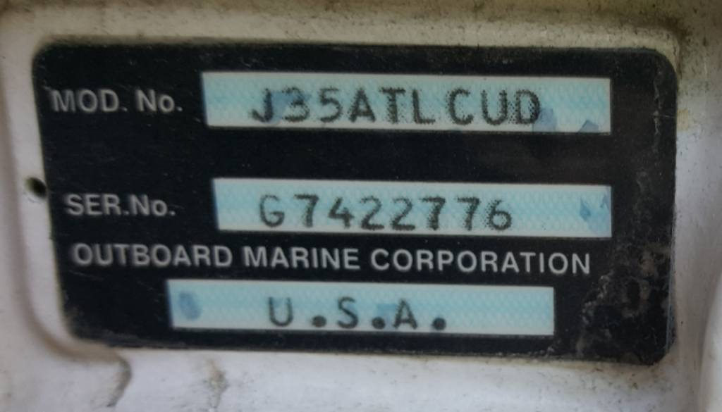 Help with Johnson model number - TinBoats net
