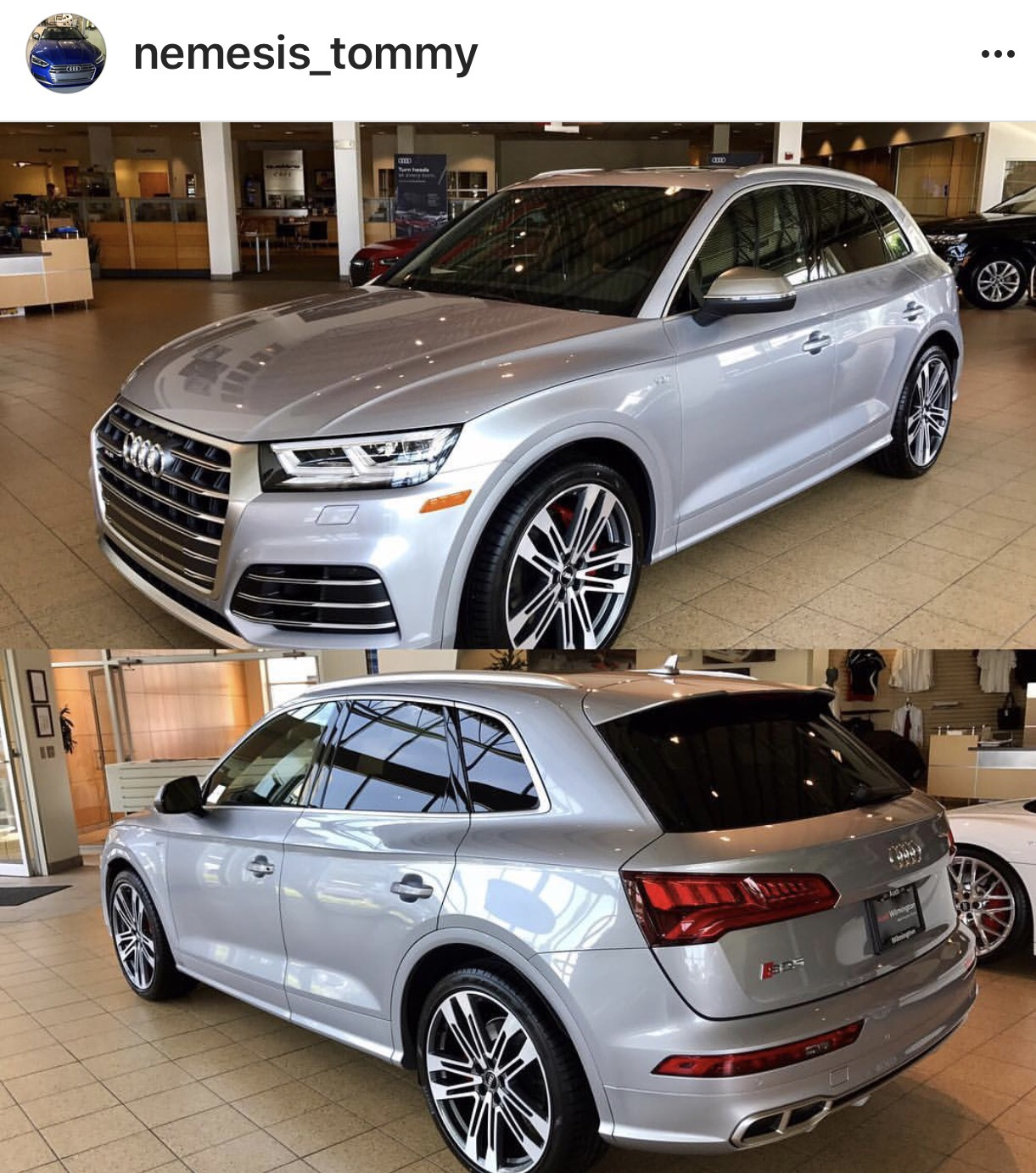 New Member Took Delivery Of Florett Silver 2018 Audi Sq5
