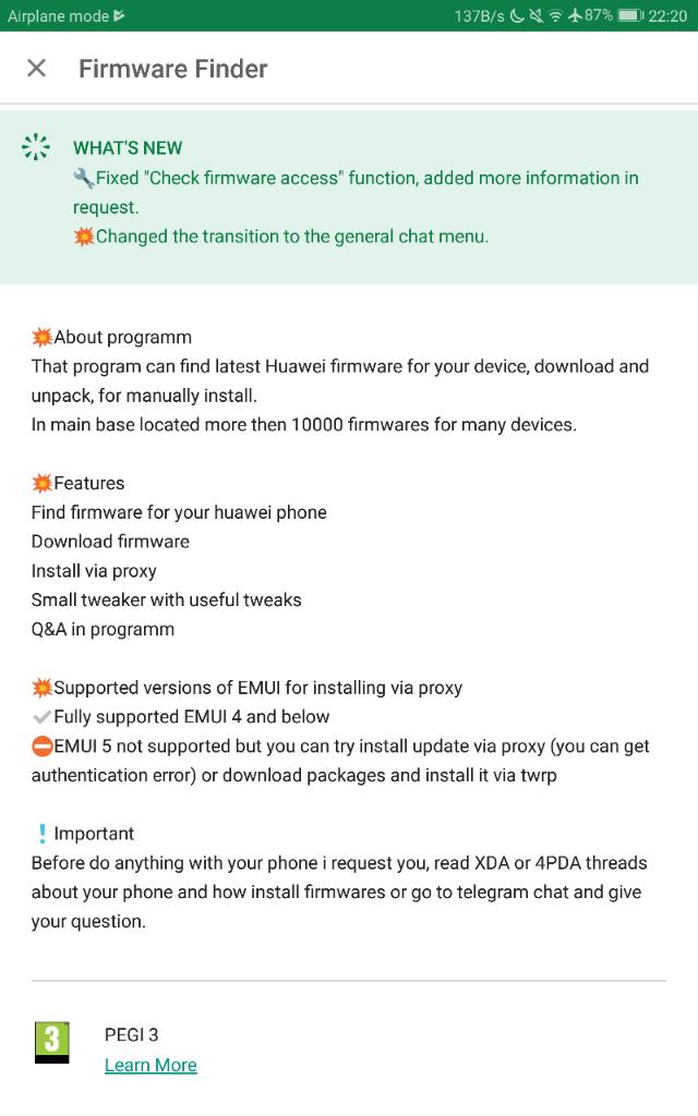 Huawei Firmware Finder (Team MT) - Pg  57 | Development Tools
