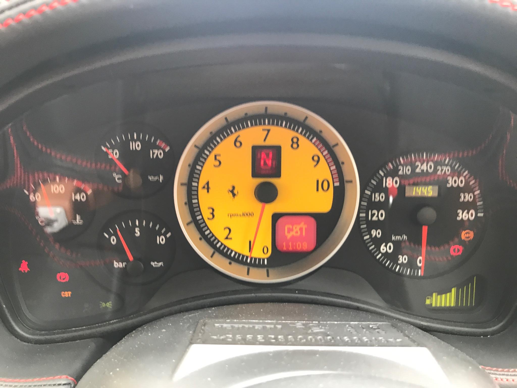 Ferrari F430 having this problem CST