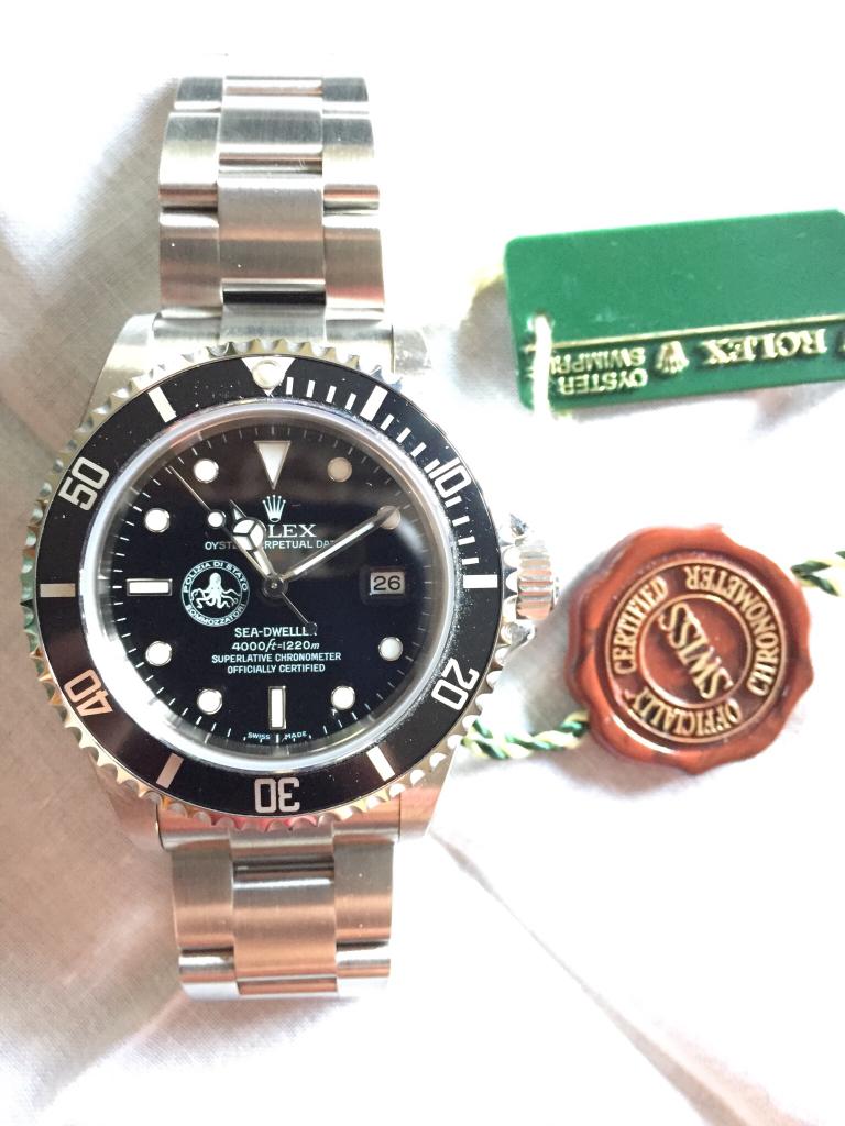 A Truly Rare And Special Sea Dweller Incoming Rolex Forums