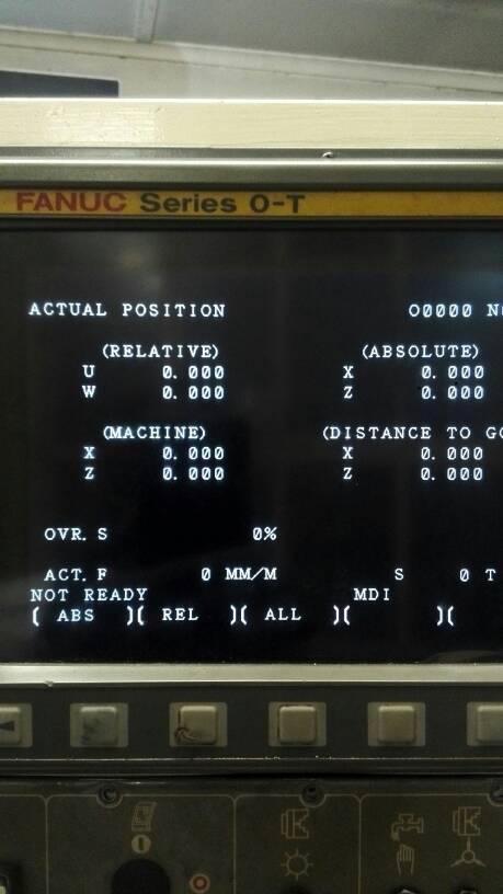 Fanuc > Fanuc Series O-T over travel alarm