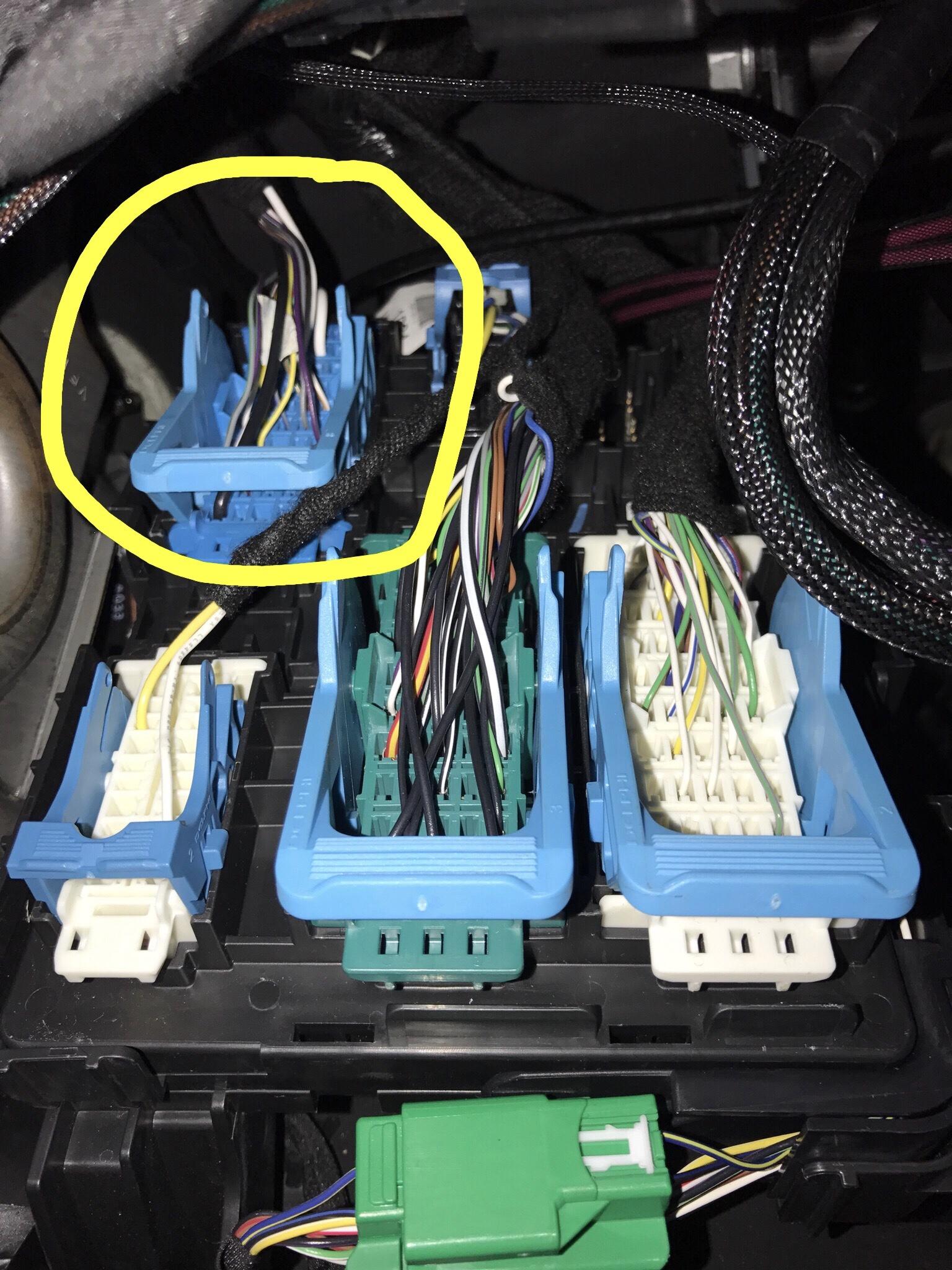 Dome Light Wire   - 2014-2018 Silverado  U0026 Sierra Mods