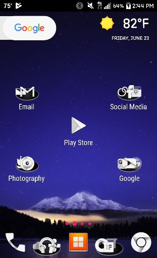 how to change icons on android home screen
