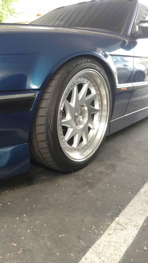 running    tires    rim
