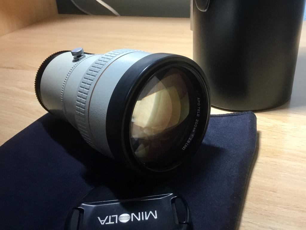 (VENDO) Minolta 200mm APO AF, el blanquito (400€) en Camaras y Objetivosf63f18b4aee8817b569de43e60a1c639