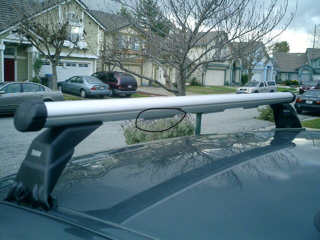 Oem roof rack wind noise - Bimmerfest - BMW Forums