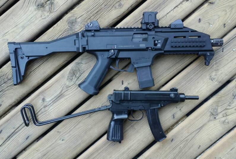 CZ Scorpion Evo 3 with Sig brace [Archive] - pistol-forum com