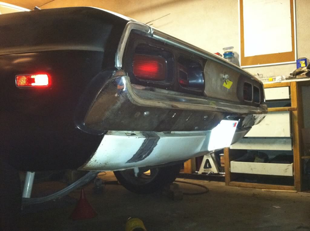 Replacing Quarter Panel On A Cuda Or Challenger In Body Shop Page 1 Of 4