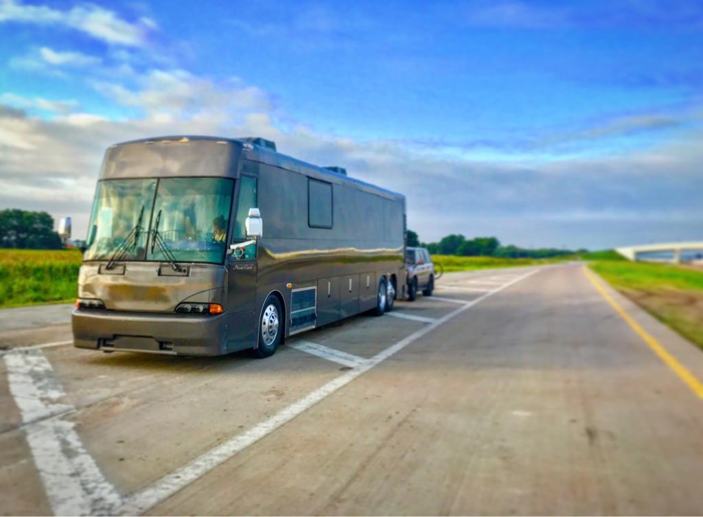 Newer Used fleet bus shell vs  Older conversion bus shell