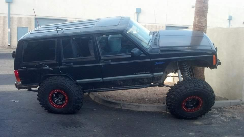 Another XJ on Superduty axles - NAXJA Forums -::- North